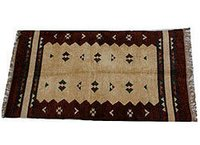 Embroider Chenile Cotton Rugs