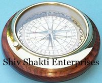 Large Directional Desk Compass