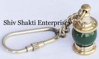 Greeen Lamp Key Chain