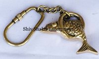 Brass Fish Key Rings