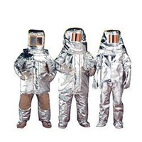 Aluminuim Fire Proximity Suit