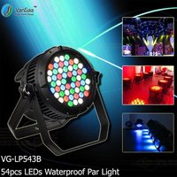 54pcs LEDs RGBW Outdoor Par Lights