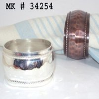 Brass Napkin Rings(254)