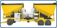 Mobile Concrete Batching And Mixing Plant