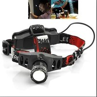 Super Bright LED Headlamp with High Capacity Battery