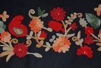 Machine Embroidery Work Fabric