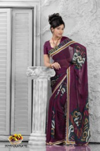 Fruits Collection - Pomogranate Saree