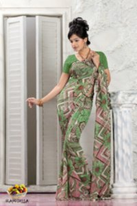 Fruits Collection Saree