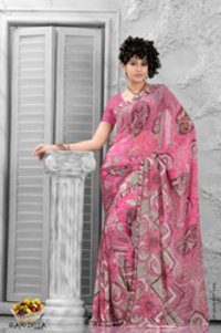 Fruits Collection - Sapodilla Sarees