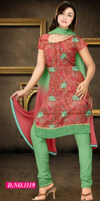 Banarasi Pure Nett Heavy Work Suit