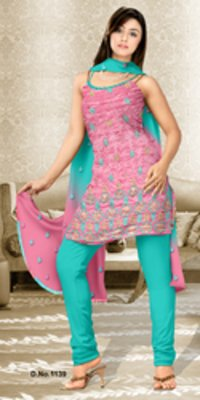Cotton Pattern Designer Work Suit