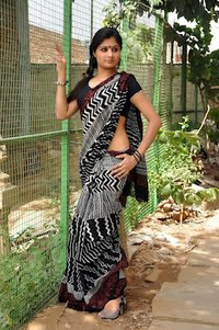 Cotton Doria Saree