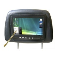7 Inch Touch Monitor Headrest For Car PC