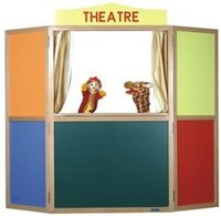 Floor Puppet Theater (Folding)