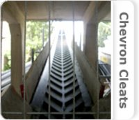 Chevron Cleats Conveyor Belt