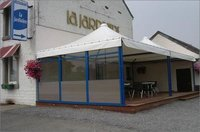 Galvanized Finish Cafeteria Tent
