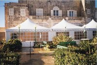 Galvanized Finish Resort Tent