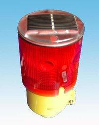 Solar Traffic Cone Light