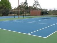 Tennis Court-Synthetic Flooring