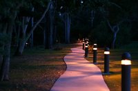 Outdoor Bollard Light