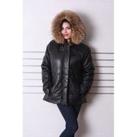 Ladies Fancy Leather Coat