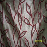 Curtain Fabric (Ruby 701 Maroon)