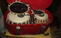 Steel Tabla With Box Ring Set & Hamer