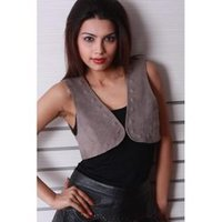 Ladies Leather Vests