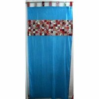 Blue Designer Curtains