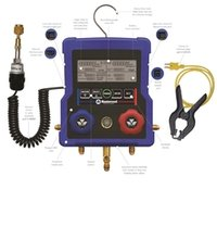 Mastercool 2-Way Digital Gauge Manifold