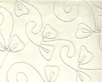 Rayon Cord Embroidered Handmade Papers