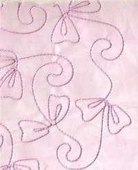 White Embroidered Handmade Papers With Rayon Embroidery