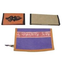 Jute Ladies Money Pouch