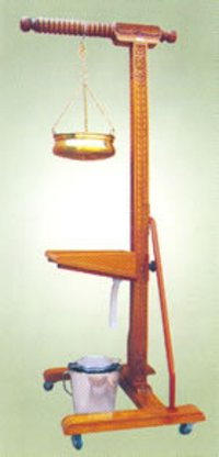 Shirodhara Wooden Stand