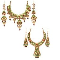 Exclusive Kundan Polki Jewellery