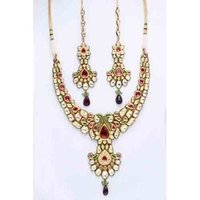 Antique Kundan Polki Set
