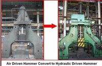 Hydraulic Forging Hammer Power Head