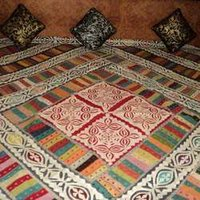 Applique Designer Bed Cover