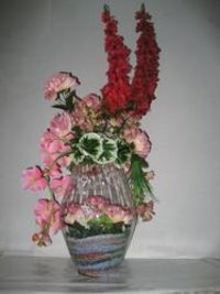 Artificial Flower Bouquet For Birthday