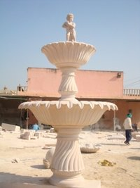 Stone Carved Fountain