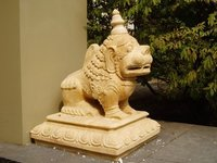 Stone Carved Lion