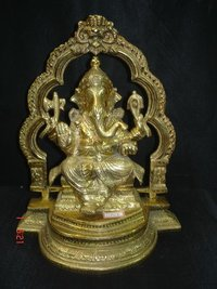 Brass Ganesha Statue