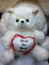 22 Inches Teddy Bear Heart Dil