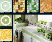 Ceramic And Glass Decorative Glass Tiles