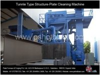 Tunnel Type Structure Plate Cleaning Machine