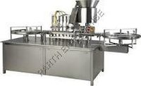 Automatic Four Head Vial Filling-Stoppering Machine
