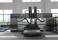 Graphite Blocks Cnc Movable Worktable Drilling Machine