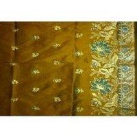 Designer Raw Silk George Fabric