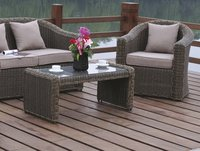 Garden Wicker Dining Chair Sets
