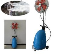 Industrial Standing Cooling High Pressure Mist Fan
